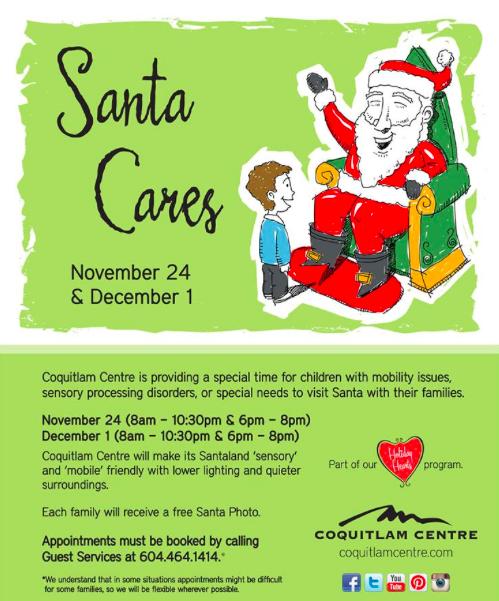 Coquitlam Centre Santa