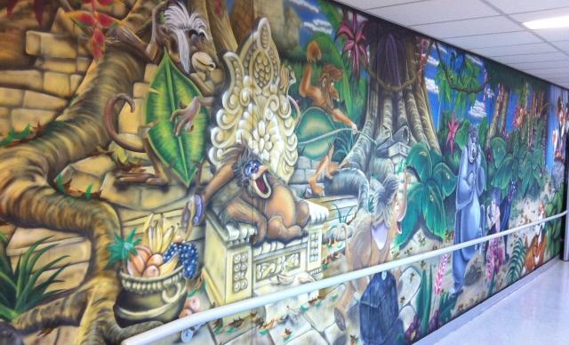Vagner Mural Jungle Book